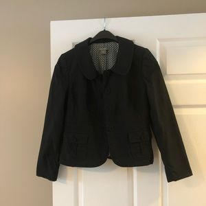 Ann Taylor cropped lined jacket